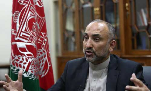 Atmar Offers President Ghani to Head a Caretaker Govt