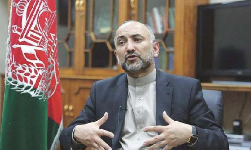 Atmar Calls Moscow Talks 'a Starting Point'