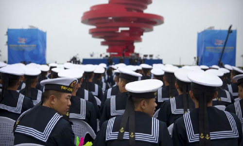China's Xi Urges Closer Naval Ties  amid Regional Tensions
