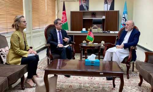 EU Back Afghan Owned, Led Reconciliation Process