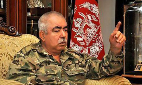 Dostum Questions Ghani's Policies on Peace, Security