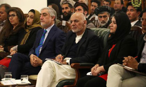 Ghani Insists on Ceasefire, Comprehensive Dialogue