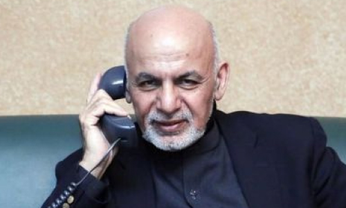 Ghani, China FM Discuss  Intra-Afghan Dialogue in Phone Call