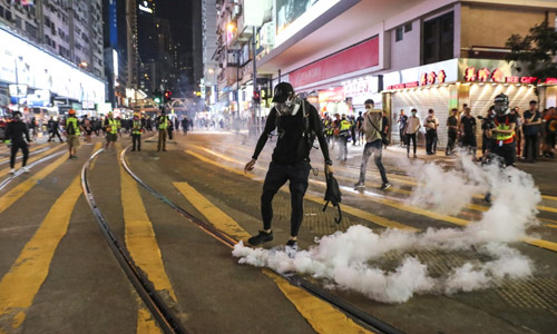A Report of The Truth of Hong Kong