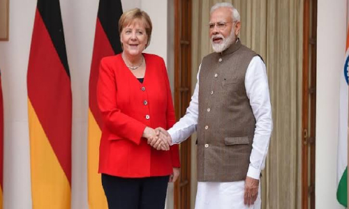 India, Germany Hold  Consultations, Sign  Pacts in Delhi