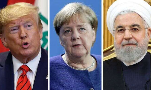 Germany's Angela Merkel Supports Us-Iran Talks  but Says Lifting Sanctions First Is 'Not Realistic'