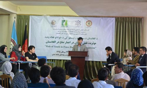 Afghan Youth and Their Role in Peace Process