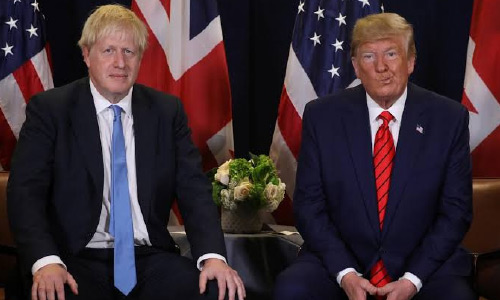 UK PM Johnson Implores Trump: Please Keep Out of Election