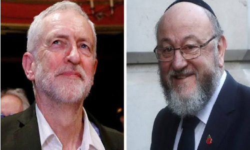 UK Chief Rabbi Slams Labour Party Over Anti-Semitism Claims: 'The Very Soul of Our Nation Is at Stake'