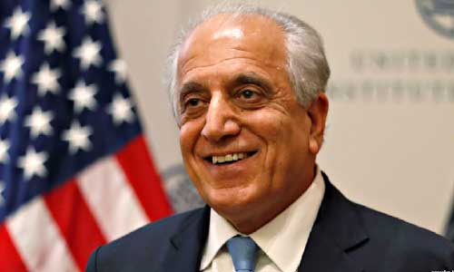 Khalilzad Briefs US Lawmakers on Afghan Peace Talks