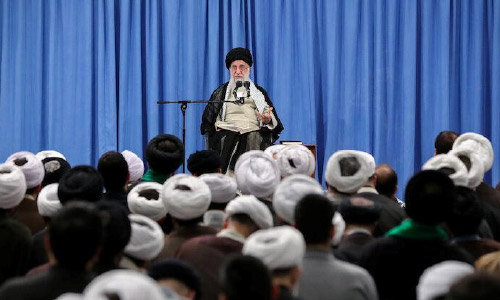 Khamenei Tells Iran's Guards to  Develop More Advanced,  Modern Weapons