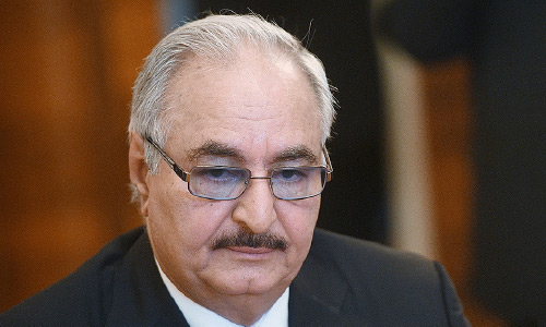 Libyan General Haftar Left Moscow Talks Without Signing Truce with  Tripoli-Based GNA