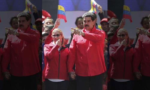 Venezuela's Maduro Mocks Trump, Opposition Leader  Guaido; Vows to Never Surrender