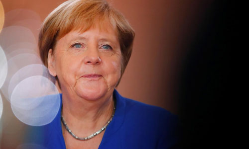 Merkel Says Peaceful Solution  Needed for Hong Kong