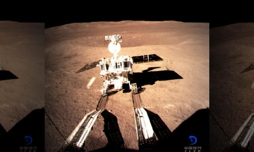 Chinese Rover Beings Exploring 'Dark' Side of Moon