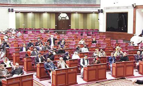 Lack of Agenda  Items: Wolesi Jirga Cancels Session