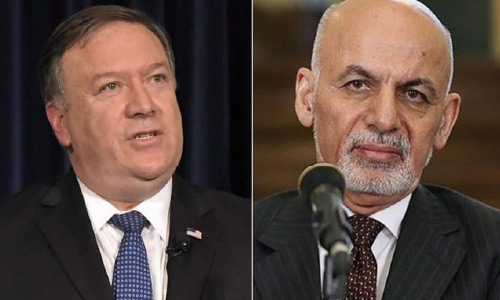 Pompeo, Ghani Agree to 'Accelerate Efforts' to End War in Afghanistan