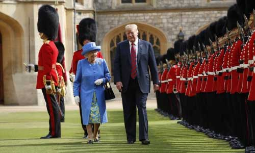 The Trumps Are Coming: London Ready  for Controversial Visit