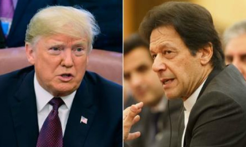 Trump Discusses Afghan Peace  with Pakistani PM