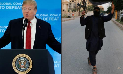 Trump Tells Europe to 'Take Back' 800 ISIS Fighters  or US 'Will Be Forced to Release Them'