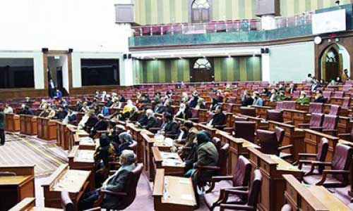 Wolesi Jirga Again Fails to  Resolve Speaker Row