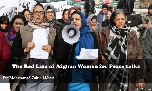 The Red Line of Afghan Women for Peace talks