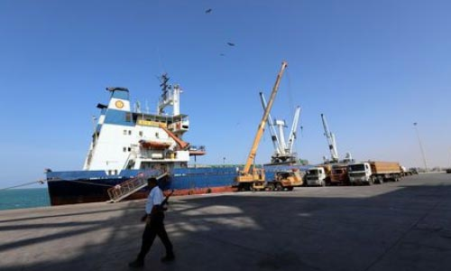 Yemen's Warring Parties Meet on Ship  to Discuss Stalled Troop Withdrawal