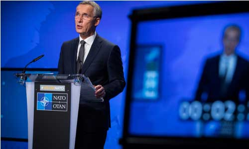 Doha Talks Fragile but Best Chance for Peace: NATO