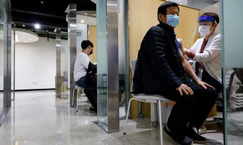 South Korean authorities stick to flu  vaccine plan after deaths rise to 48