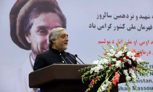Enmity with Taliban Must End: Abdullah