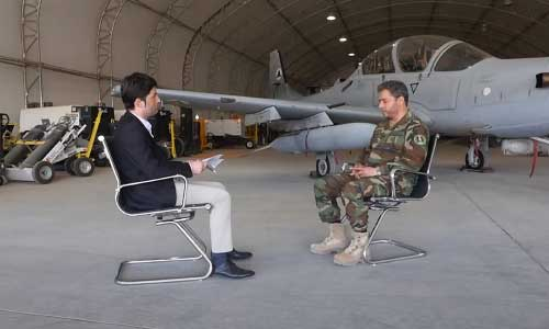 Afghan Forces Get US Air Support Based on Need: Zia