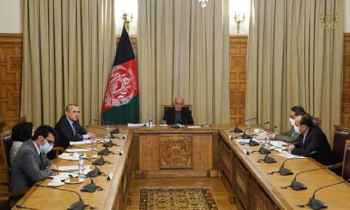 Ghani Instructs Health Officials in Fight Against Second Wave of COVID-19
