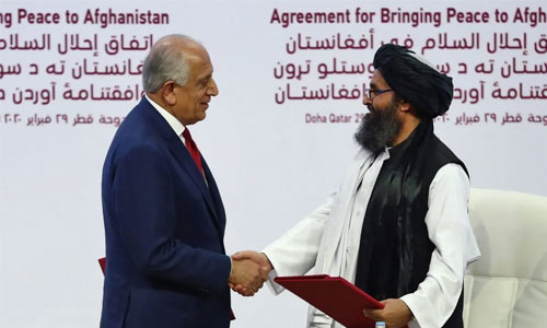 Relation Between US Interests and  Expansion of Taliban