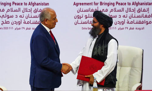 What Khalilzad's Peace Deal with Taliban  Brought About to Afghanistan?