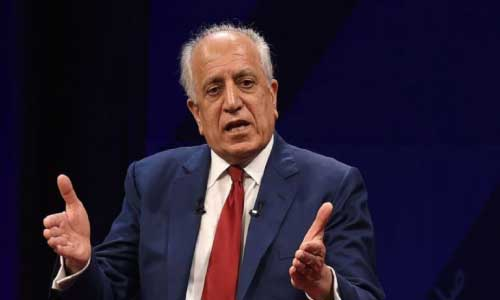 Khalilzad 'Would Welcome'  Talks with Iran to Help  End Conflict