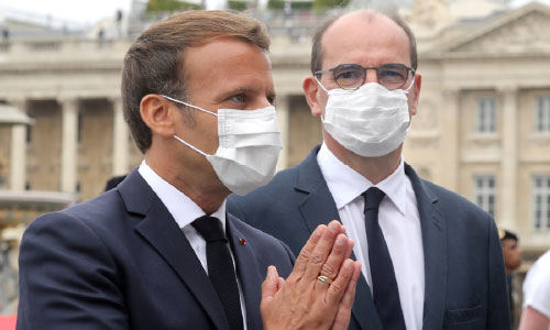 French President Macron Makes Masks Obligatory in Public Starting August 1