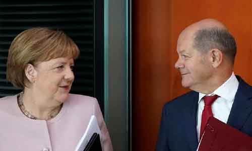 German Social Democrats Tap  Olaf Scholz as Chancellor Candidate