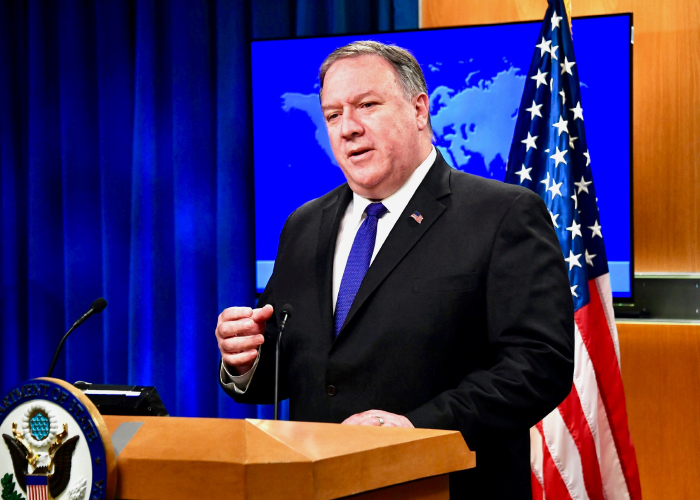 Taliban Now Fighting Against Govt, People: Pompeo Told