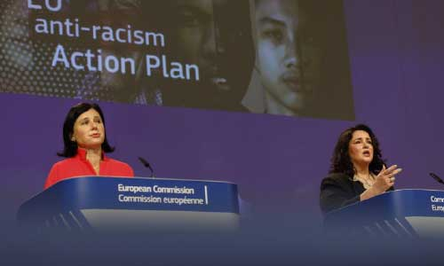 EU unveils plan to combat racism,  increase diversity