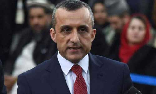 Saleh Lashes Out Over Kabul Blast, says  'Rotten Ideology' Must Be Rooted Out