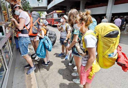 Sri Lanka tourism earnings fall in February due to COVID-19