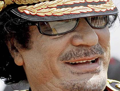 NATO 'Cannot  Reach Me': Gaddafi
