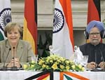 Merkel, Singh Discuss  Afghanistan and Fight Against Terror