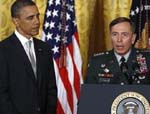 Obama Hears From Petraeuson Troop Options