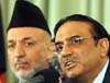 Karzai Inquires  After Zardari