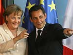Merkel, Sarkozy  Stress Growth A Priority in Crisis