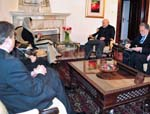 Karzai, Khar Call for Joint Peace Efforts