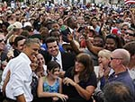 Obama Widens Lead Over  Romney Despite Jobs Data: Poll